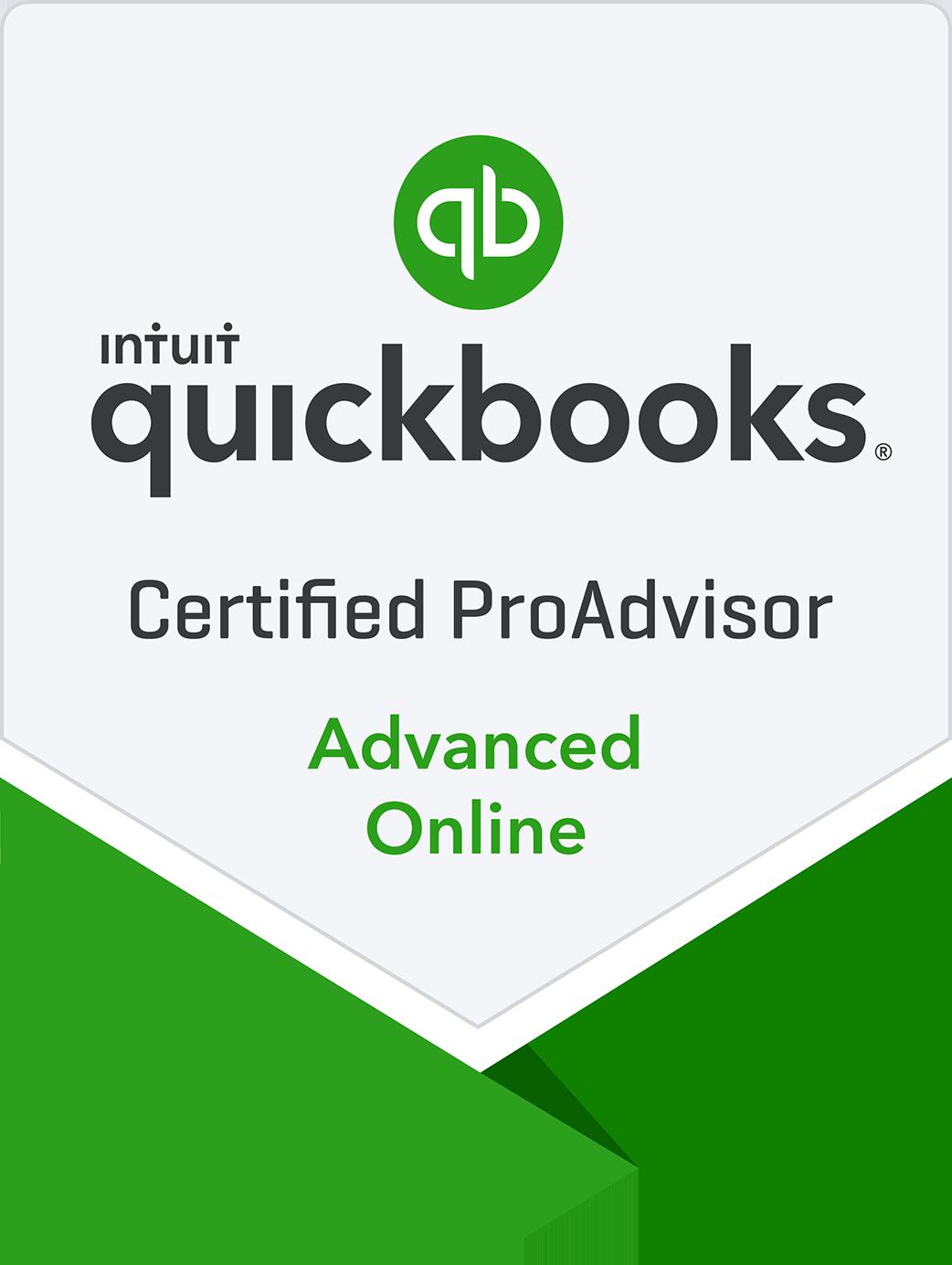 QuickBooks Advanced Online Certified ProAdvisor - QuickBooks Online Certification